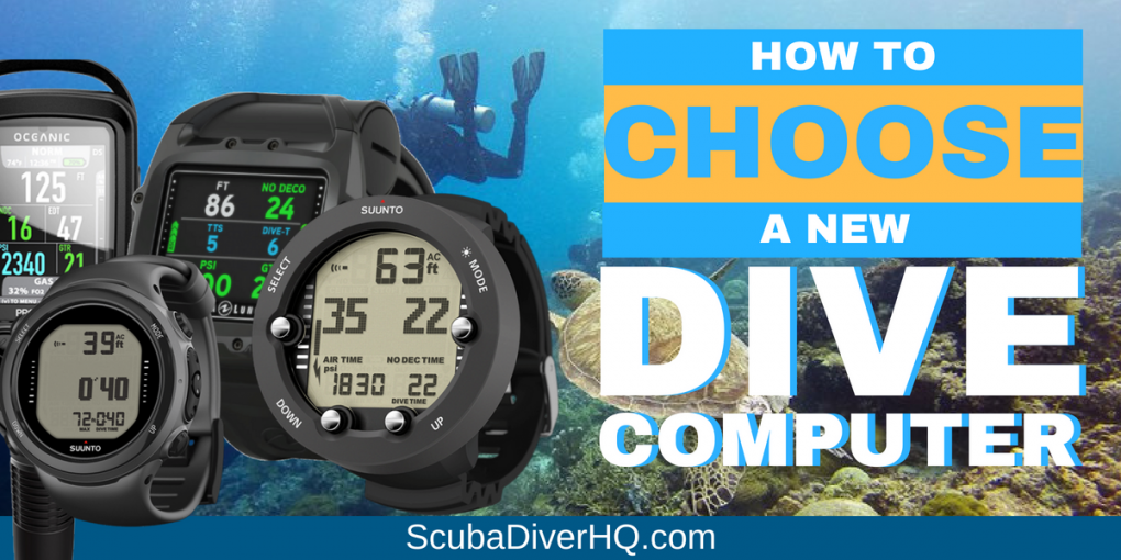 How To Choose A New Dive Computer