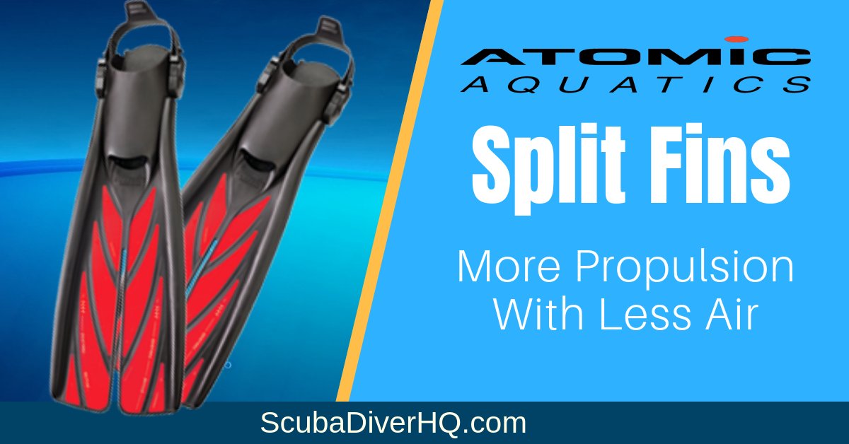 Atomic Split Fins Reviews