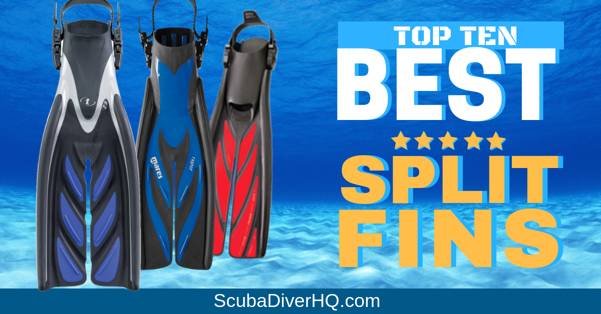 Top 10 Best Split Fins And Buying Guide   ScubaDiverHQ