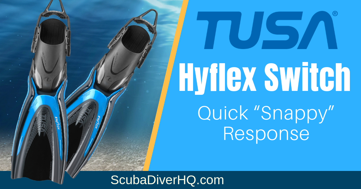 Tusa Hyflex Switch Fin Review